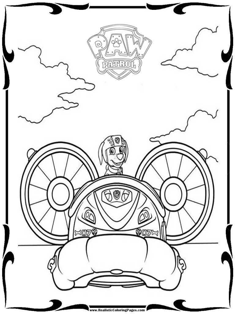 Paw Patrol Printable Coloring Sheets Coloring Pages