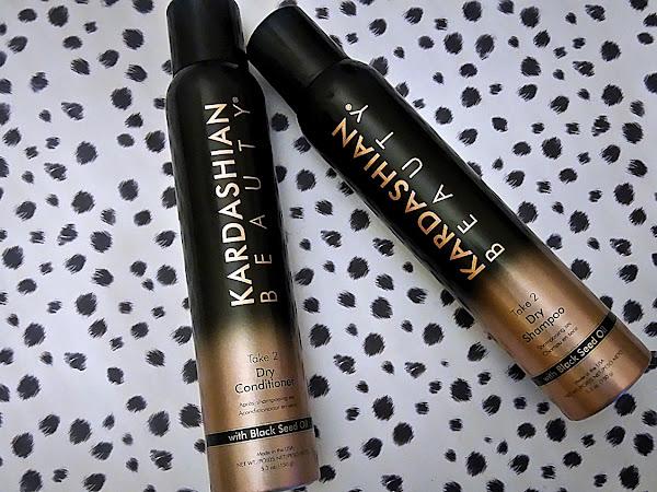 ATSAUKSME : Kardashian Beauty Take 2 sausais kondicionieris un sausais šampūns