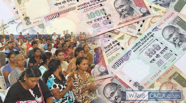 India Krisis Uang Tunai