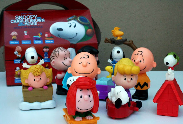 McDonald's Snoopy and the Gang