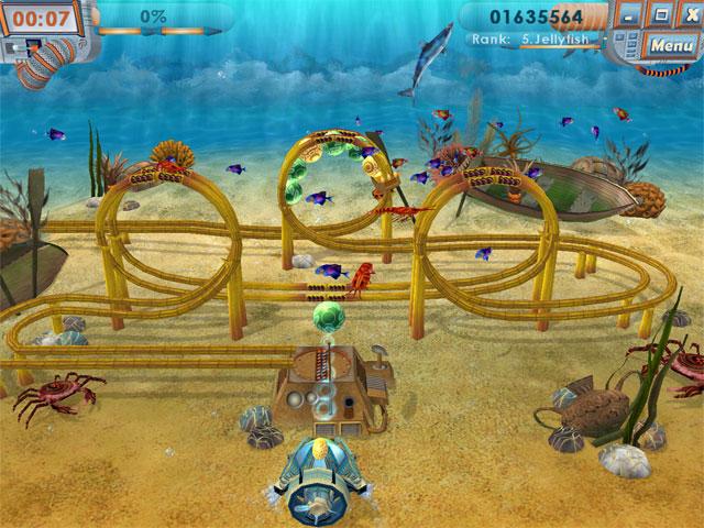 تحميل لعبة زوما اعماق البحار Secrets of Six Seas