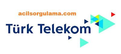 Türk Telekom Numara Sorgulama