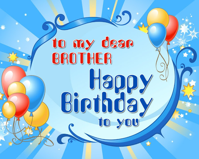 Happy Birthday Brother HD Wallpapers Free Download
