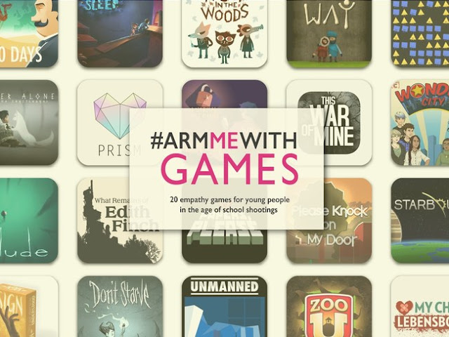 Literary Safari Media's #ArmMeWithGames list features 20 empathy and social emotional learning game recommendations for young people growing up in the shadow of lockdown drills and school shootings
