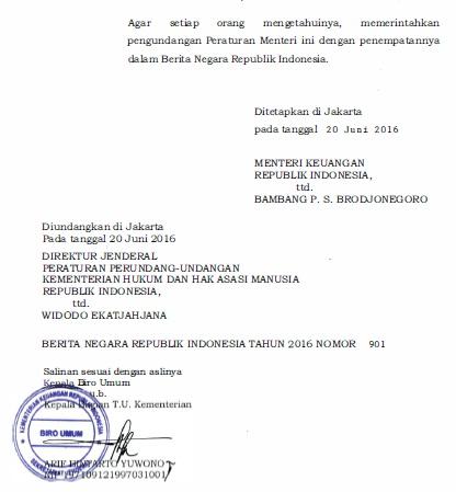 Peraturan Menteri Keuangan Republik Indonesia Nomor 98/PMK .05/2016 Tentang Petunjuk Teknis Pelaksanaan Pemberian Penghasilan Ketiga Belas Kepada Pimpinan dan Pegawai Non Pegawai Negeri Sipil Pada Lembaga Non Struktural
