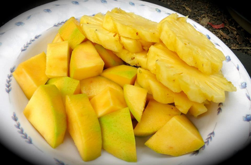 Stamina buah Mangga dan Nenas, tergantung permintaan Gunung Rinjani