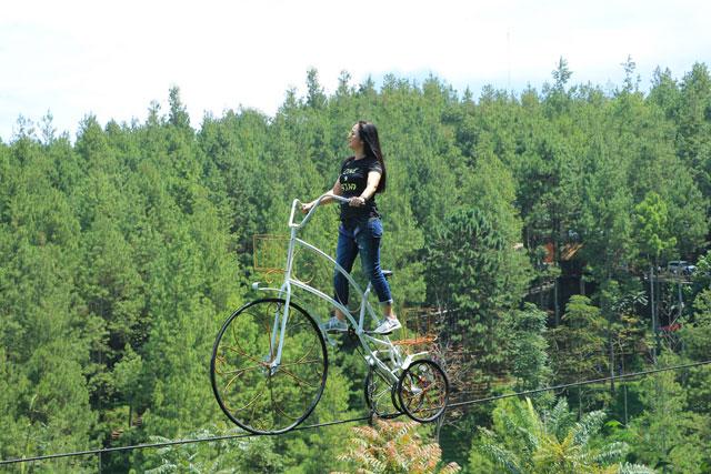 Sky Bike (Sepeda Terbang)