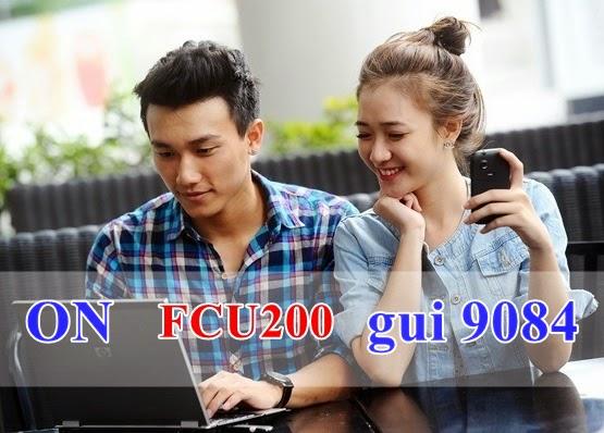 Đăng ký gói cước FCU200 Mobifone Fast Connect 3G
