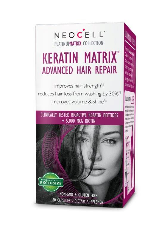 c3cc01230da Review  Neocell KERATIN MATRIX Advanced Hair Repair  Neocell ...