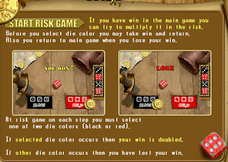 Pirate Slot risk feature