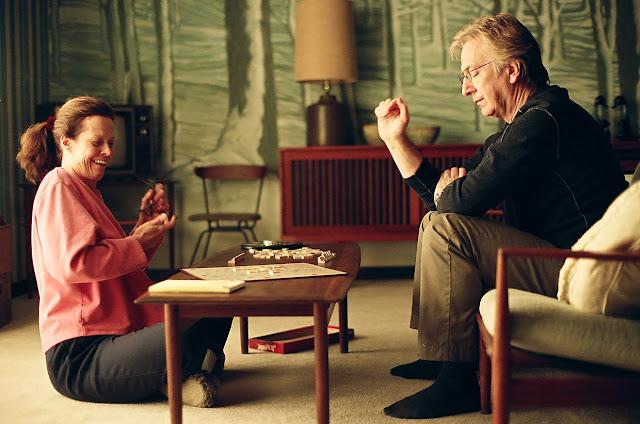 Sigourney Weaver e Alan Rickman in Snow Cake