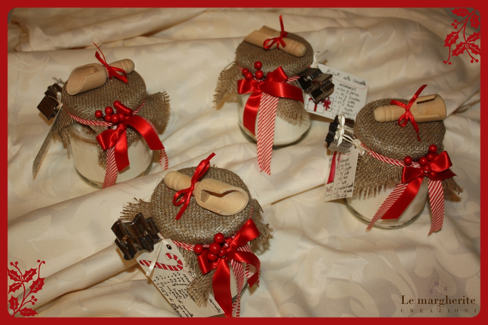 Le margherite idea regalo barattolo ingredienti per for Idea per regalo