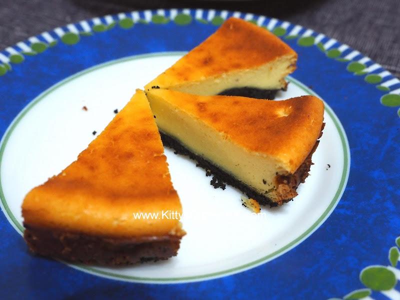 Baked Cheese Cake with Rum DIY recipe 香烤朗姆酒芝士蛋糕 自家烘焙食譜