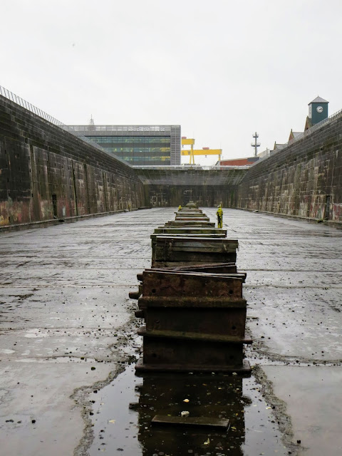 Why visit Belfast from Dublin: Titanic Dock and Pump-House