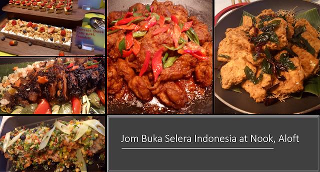 Bufet Ramadan Selera Indonesia di Nook, Aloft KL Sentral