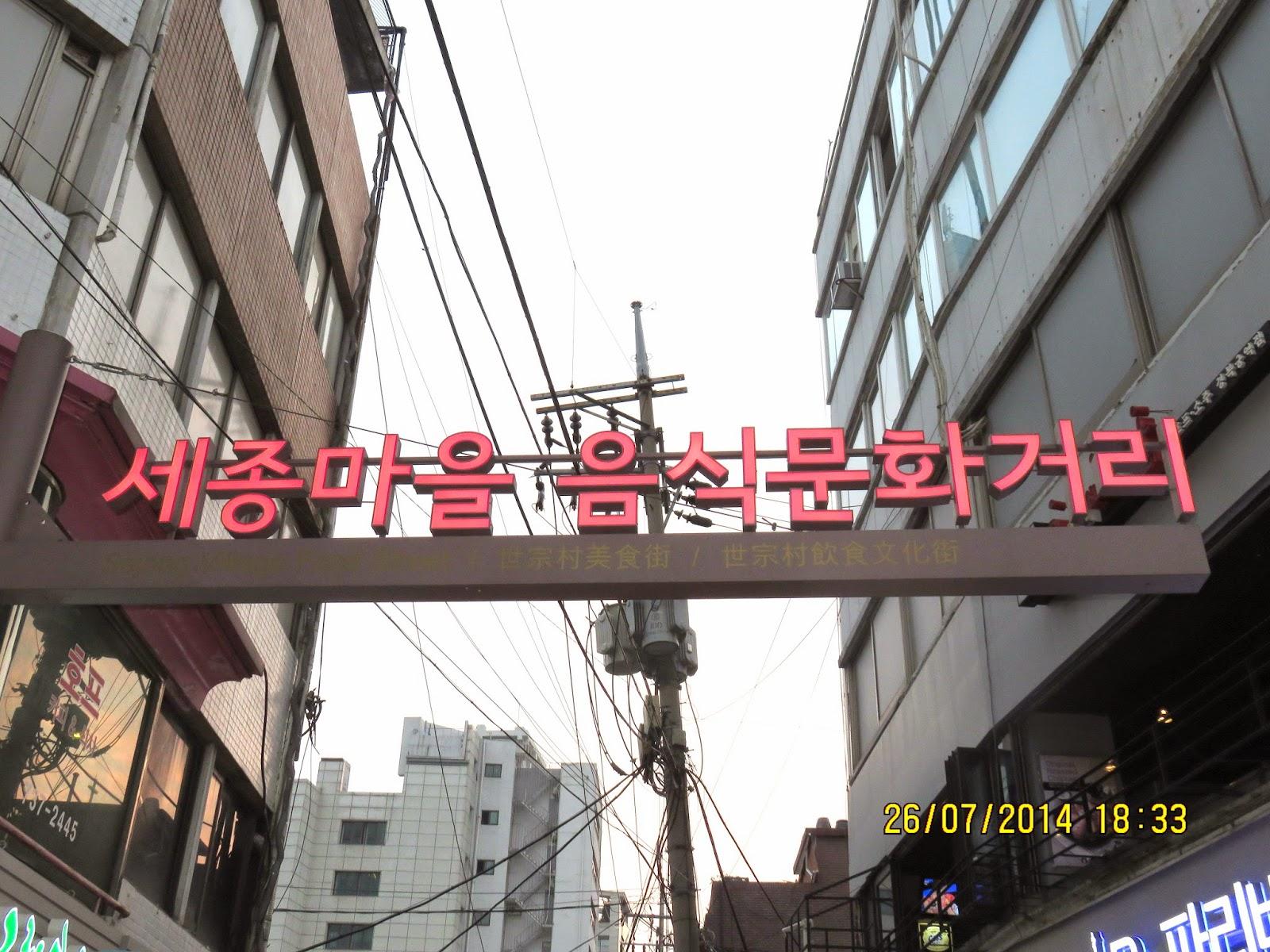 Amy 快樂人生: 2014韓國首爾美食絕好推介-- 土俗村蔘雞湯之番外篇 -- 辣炒豬腳仔
