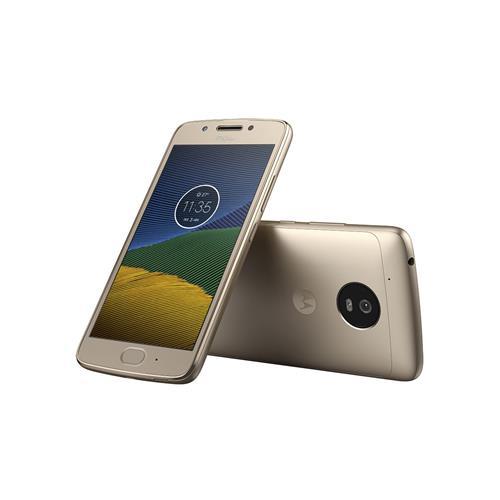 Loja Casas Bahia Smartphone Motorola Moto G5 XT1672 Ouro com Android 7.0, 4G, Câmera 13MP