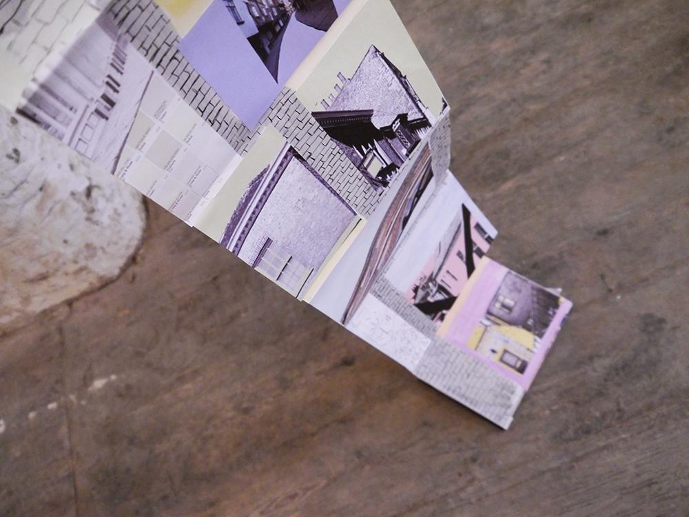 Tea Green Events, Concept Atelier, pop up shop, Dundee, The Old Flour Mill, Tea Green, Scottish design, Scottish designers, Dundee designers, Dundee bloggers, Scottish bloggers, DJCAD, Duncan of Jordanstone College of Art and Design, sketchbook display, sketch book exhibition, art school