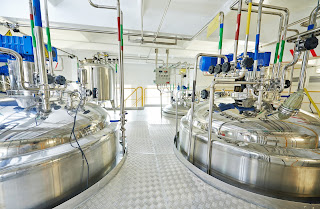 stainless steel tanks pharmaceutical production facility process control