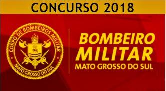 Concurso CBMMS 2018: Corpo de Bombeiros Militar de Mato Grosso do Sul