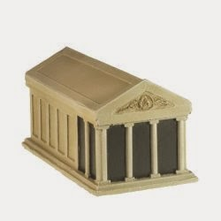 BD216 10 mm Roman or Greek Temple.