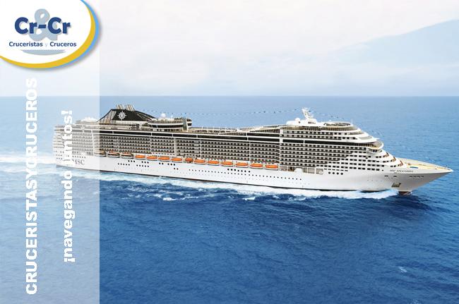 ► MSC Cruceros continuará su compromiso con el puerto de Valencia durante 2017