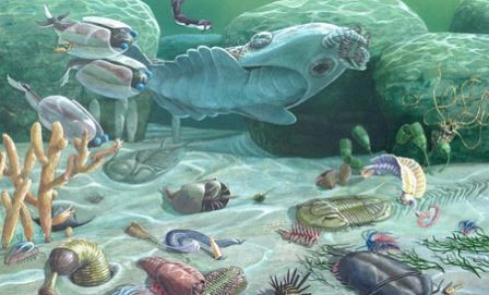Zaman Paleozoikum dan Gambarnya
