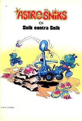 Portadilla de la aventura Snik contra Snik, Zipi y Zape nº 289