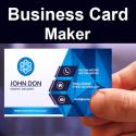 Visiting Card Maker Photo Logo PRO
