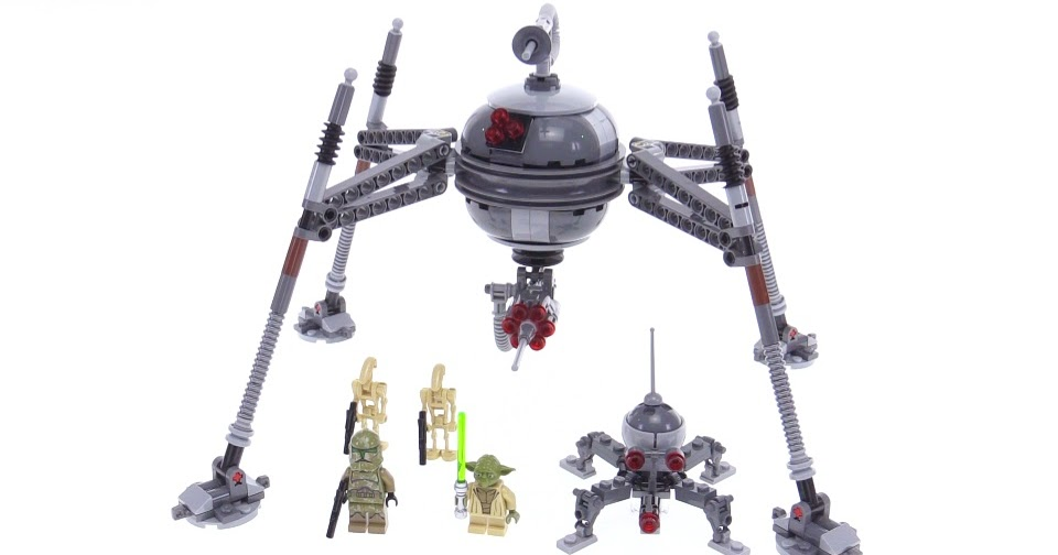 Lego star wars 2016 homing spider droid review 75142 - Lego star wars vaisseau droide ...
