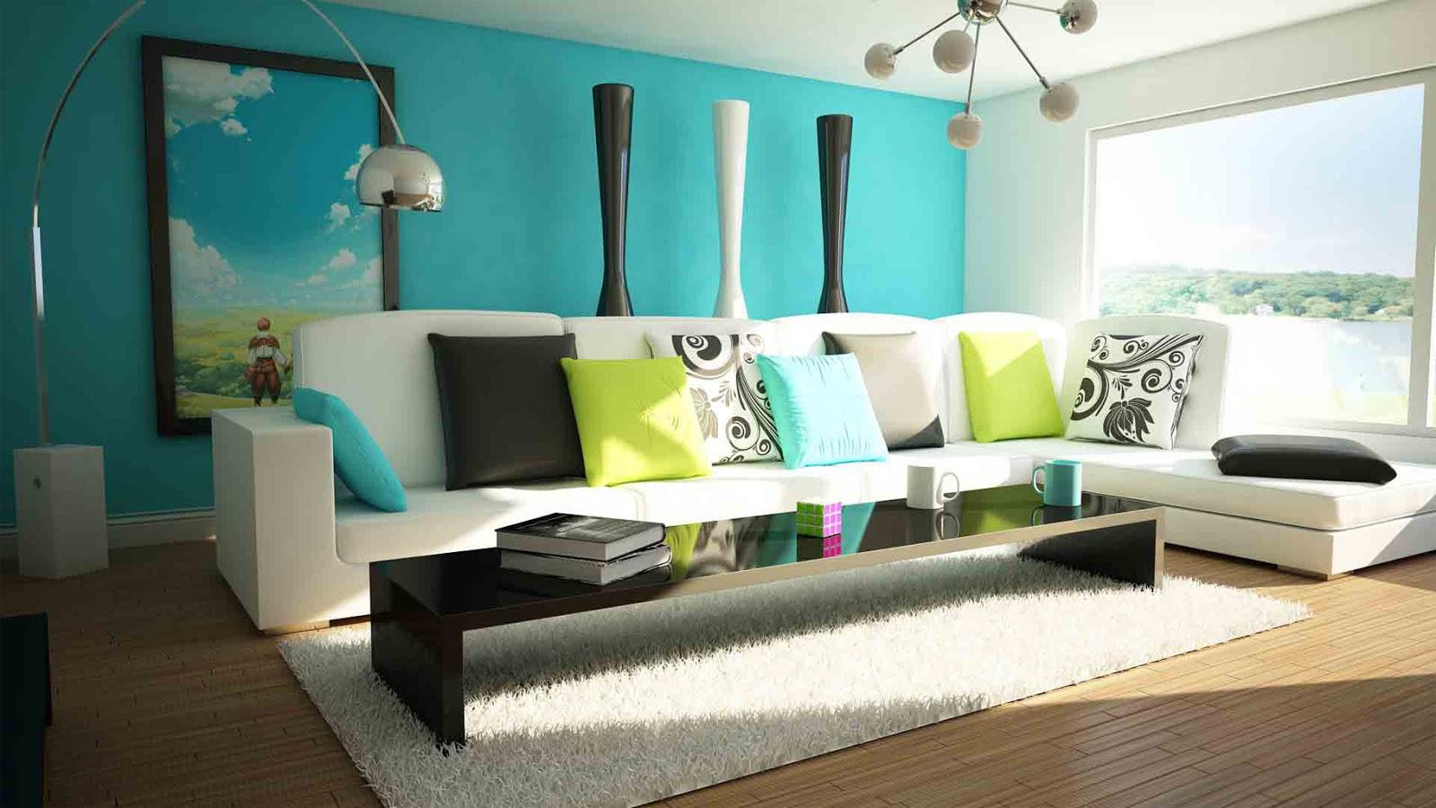 Warna Cat Dinding Ruang Tamu Minimalis