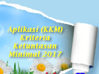 Aplikasi (KKM) Kriteria Ketuntasan Minimal 2017 Gratis