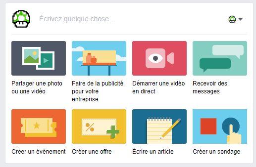 Faire un sondage Facebook sur une page avec des images et des GIF