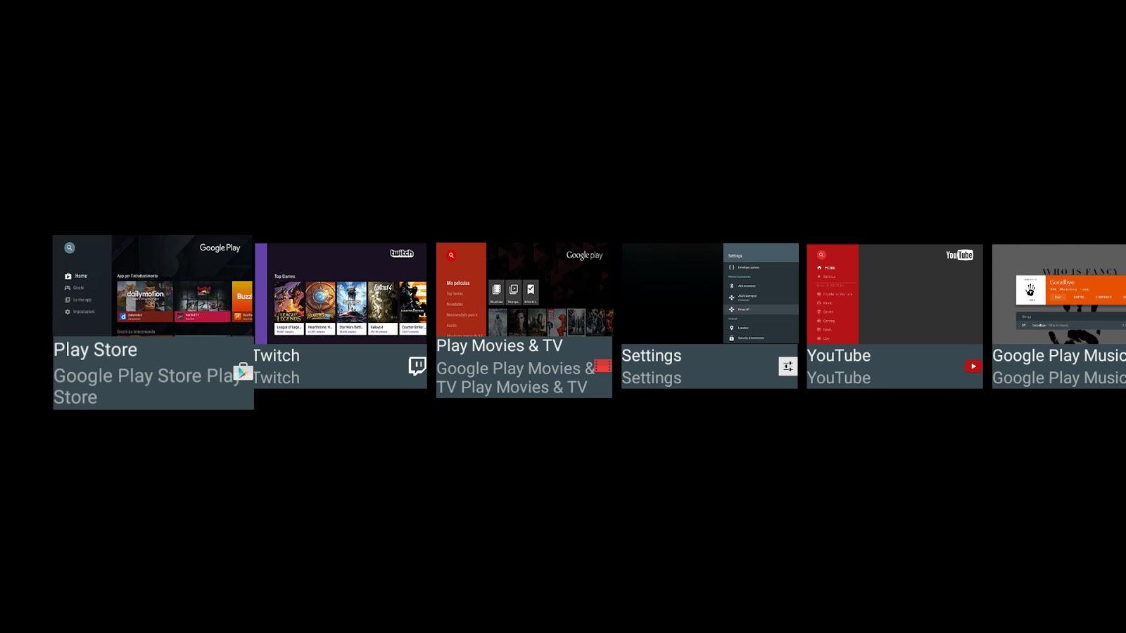 La evolución de Android TV - Los colores de Google