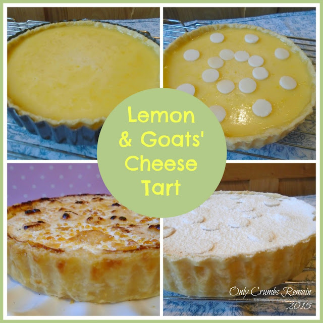 Lemon and Goats' Cheese Tart