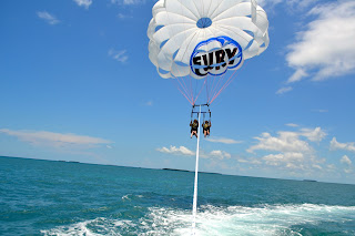 Parasailing in the Florida Keys