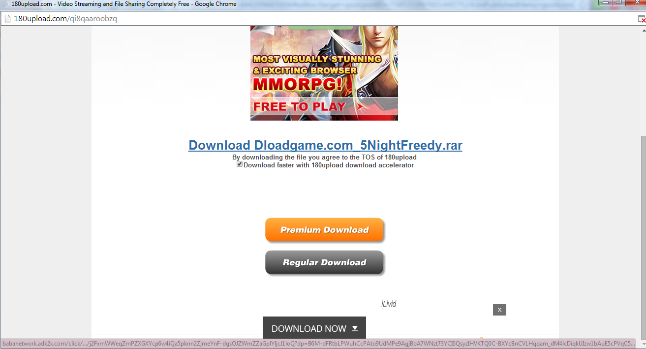 Cara mendownload di 180upload