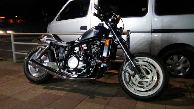 Honda Magna by WFO in Tokyo