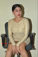 Actress Pooja Roshan Stills in Golden Short Dress at Box Movie Audio Launch  0061.JPG
