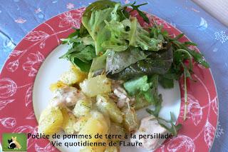 Vie quotidienne de FLaure: Poêlée de pommes de terre à la persillade