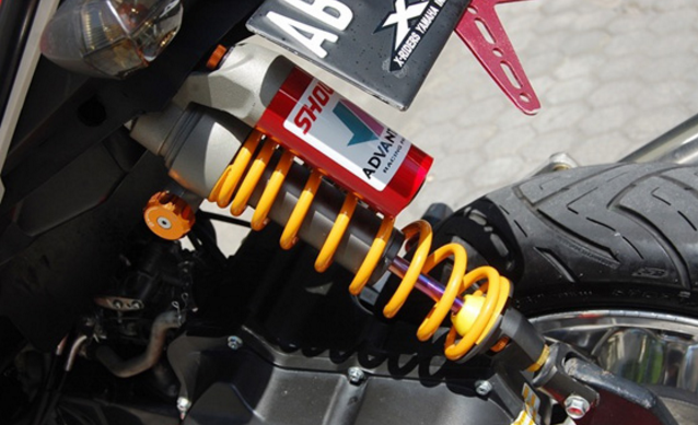 Modifikasi YamahaX Ride Terbaru Tampilan Supermoto Trail Adventure, Touring dan Ring Velg 17