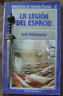 Portada del libro La legión del espacio, de Jack Williamson