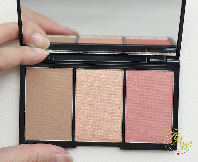 a photo of BLK Cosmetics Contour, Blush & Highlight Palettes Review (Flushed and Sun-Kissed)