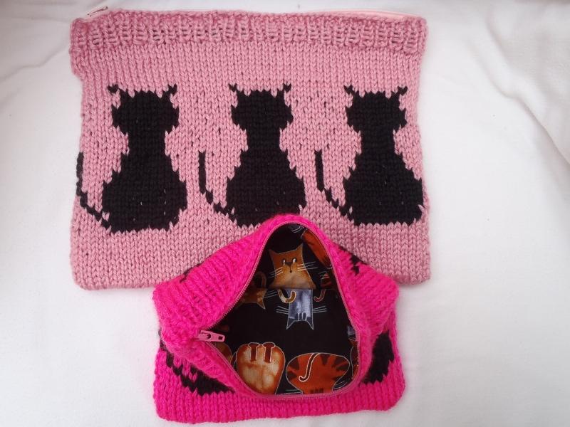Cat Bag Knitting Pattern : Stanas Critters Etc.