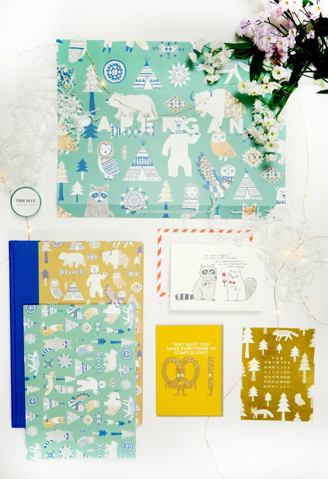an image of ohh deer papergang subscription box