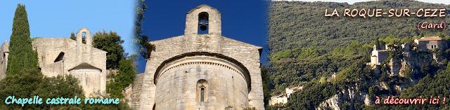 http://lafrancemedievale.blogspot.fr/2014/10/la-roque-sur-ceze-30-chapelle-romane.html