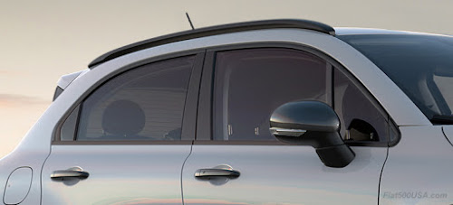 Fiat 500X Urbana Edition Mirror Trim