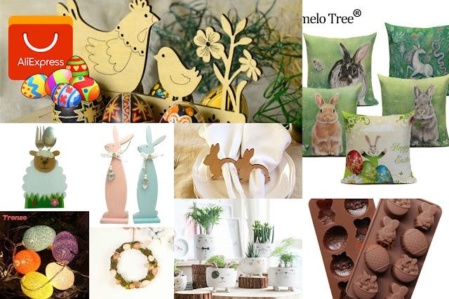 Wielkanocne dodatki do domu z Aliexpress