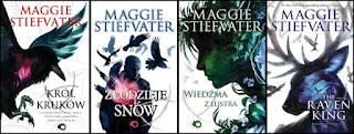 Książkowe serie, które chcę przeczytać.
