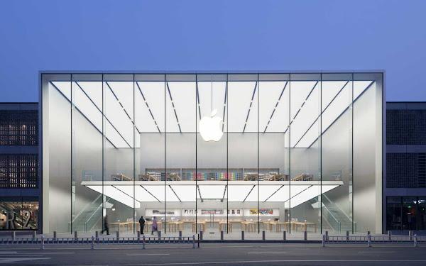 蘋果位在杭州西湖的零售商店